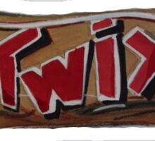 twix chocolate  Sticker