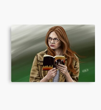 The Girl Who Waited Canvas Print