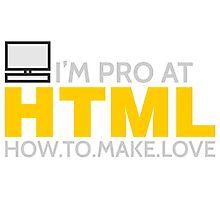 HTML PROGRAMMER Photographic Print
