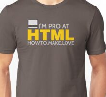 HTML PROGRAMMER Unisex T-Shirt