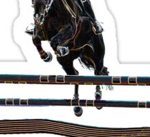 Horse Jumping  Sticker