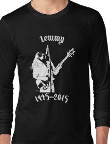 "RIP Ian ""Lemmy"" Kilmister (Motorhead) Long Sleeve T-Shirt"