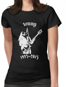 "RIP Ian ""Lemmy"" Kilmister (Motorhead) Womens Fitted T-Shirt"