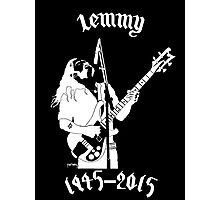 "RIP Ian ""Lemmy"" Kilmister (Motorhead) Photographic Print"