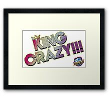 KING CRAZY!!! Persona 4: Dancing All Night Framed Print