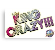 KING CRAZY!!! Persona 4: Dancing All Night Metal Print