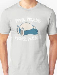 Snorlax wants to sleep - Pokemon T-Shirt