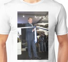 Hugh Bonneville British actor opens the Sunseeker stand ... Unisex T-Shirt