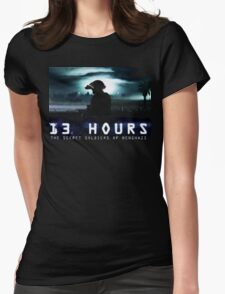 13 hours the secret soldiers of benghazi Womens Fitted T-Shirt