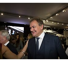 Hugh Bonneville British actor from Downton Abbey  Photographic Print