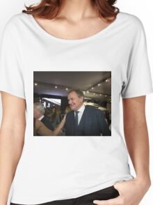 Hugh Bonneville British actor from Downton Abbey  Women's Relaxed Fit T-Shirt