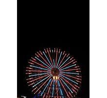 Yokohama Wheel Photographic Print