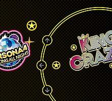 KING CRAZY!!! Persona 4: Dancing All Night by fayezfaye