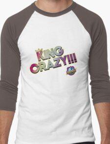 KING CRAZY!!! Persona 4: Dancing All Night Men's Baseball ¾ T-Shirt