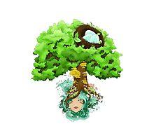 Tree maiden by Bantambb
