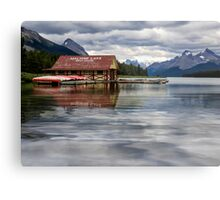 Maligne Lake - Jasper National Park Metal Print