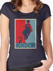 Miyagi - Slam Dunk Women's Fitted Scoop T-Shirt