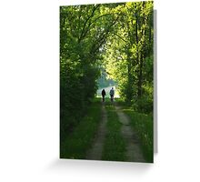 Afternoon Walk Greeting Card