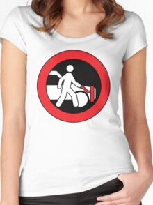 Leash Your Vehicle Women's Fitted Scoop T-Shirt