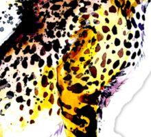 Tumblr Abstract Cheetah Sticker