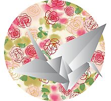 Paper bird Photographic Print