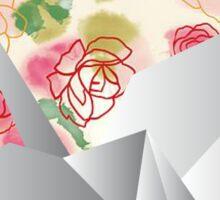 Paper bird Sticker