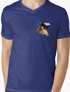 Hippo the Angel of Love Mens V-Neck T-Shirt