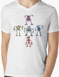 Mondojunkobots Mens V-Neck T-Shirt