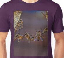 Bee acrobatics Unisex T-Shirt
