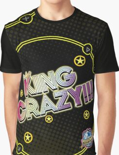 KING CRAZY!!! Persona 4: Dancing All Night Graphic T-Shirt