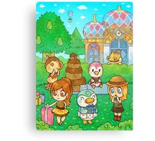 Animal Crossing Characters Canvas Print