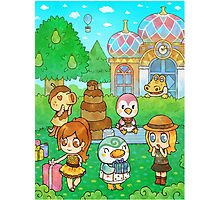 Animal Crossing Characters Photographic Print