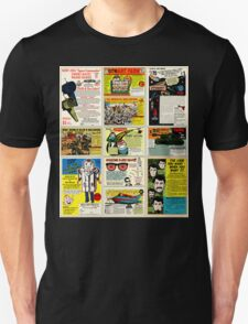 Vintage Comic Ads Unisex T-Shirt