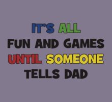Fun and Games with Dad Kids Clothes