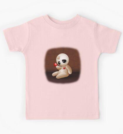 Voodoo Doll Cartoon in Love Kids Tee