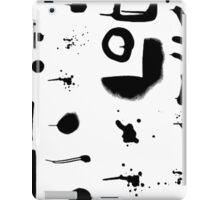 Modern Splatter Paint Strokes iPad Case/Skin