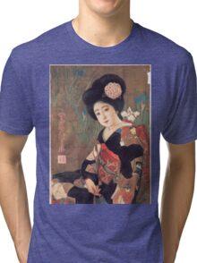 Vintage poster - Sakura Beer Tri-blend T-Shirt