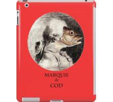 Marquis de Cod iPad Case/Skin