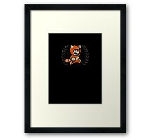 Super Mario - Sprite Badge 6 Framed Print