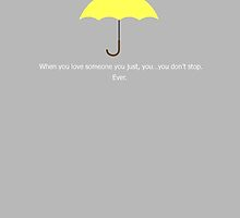 Yellow Umbrella - HIMYM inspired by Artbytaylorj