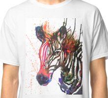 Zebra Splash Classic T-Shirt