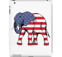 Patriotic elephant iPad Case/Skin