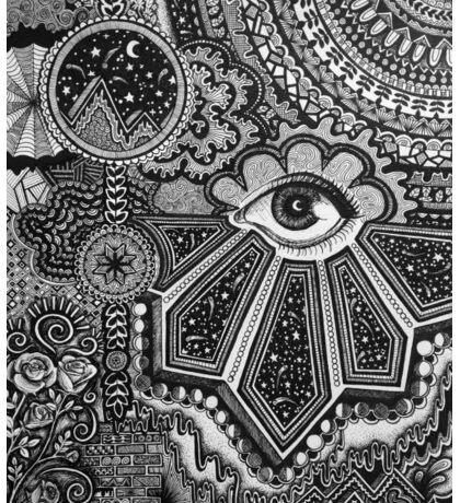Abstract Eye Sticker