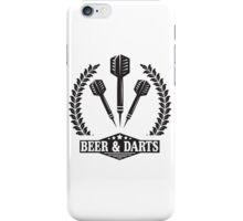 Beer & Darts iPhone Case/Skin