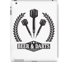 Beer & Darts iPad Case/Skin