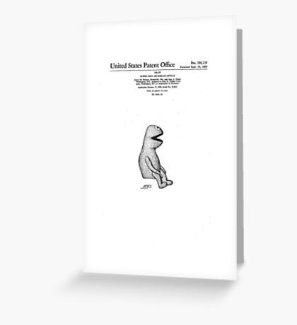 Muppet Patent Greeting Card