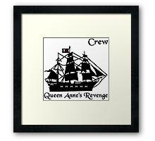 Queen Anne's Revenge Framed Print