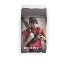 Team Fortress - Scout Duvet Cover
