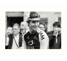 Thomas Löfkvist (IAM Cycling) Art Print