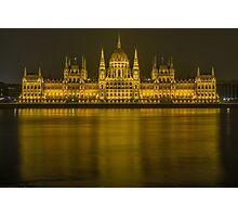 Budapest Parliament Photographic Print